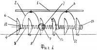Патент 2269239 Дисковая батарея почвообрабатывающего орудия