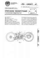 Патент 1245477 Тележка железнодорожного вагона