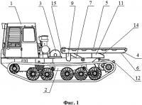 Патент 2656789 Гусеничное транспортное средство
