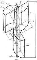 Патент 2380568 Ветродвижитель мобильного ветроагрегата