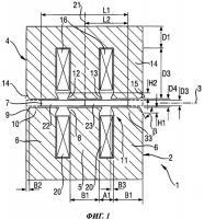 Патент 2430460 Линейный привод с уменьшенной осевой компонентой усилия, линейный компрессор и холодильный аппарат