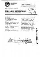 Патент 1211383 Способ озеленения намывных сооружений