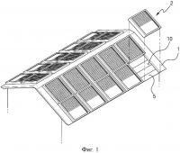 Патент 2643262 Водонагревательная и электрогенерирующая установка на солнечной энергии