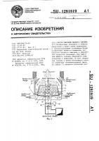 Патент 1281819 Способ сжигания жидкого топлива