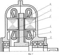 Патент 2312444 Двухпакетный синхронный генератор