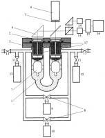 Патент 2298773 Потокометрическое устройство для калибровки контрольных течей