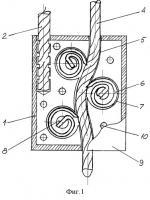 Патент 2251634 Тросовое запорно-пломбировочное устройство