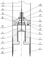 Патент 2293216 Штанговая насосная установка с двухцилиндровым насосом