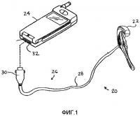 Патент 2367105 Дискретное управление с помощью шнура и приспособления с дискретным управлением с помощью шнура для использования с портативными электронными устройствами