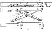 Патент 2381146 Унифицированное внутрифюзеляжное катапультное устройство и его силовой привод