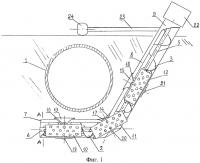 Патент 2558044 Устройство для заглубления действующего подземного трубопровода