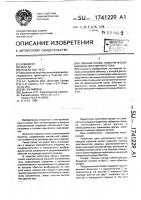Патент 1741229 Главный полюс электрической машины постоянного тока