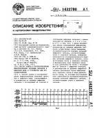Патент 1432790 Способ записи и воспроизведения информационных звуковых сигналов в цифровом виде и устройство для его осуществления