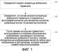 Патент 2648609 Способ и устройство для рекомендации контактной информации