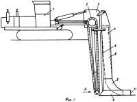 Патент 2310037 Способ строительства пластмассового дренажа при высоком уровне грунтовых вод и устройство для его осуществления