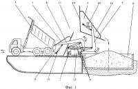 Патент 2602519 Способ погрузки сыпучих материалов в трюмы судна