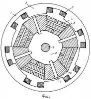 Патент 2410822 Трехфазный синхронный двигатель