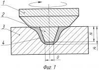 Патент 2595191 Способ упрочнения поверхности деталей обработкой трением с перемешиванием вращающимся инструментом