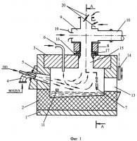 Патент 2288414 Печь для получения трехокиси сурьмы