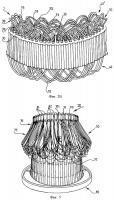 Патент 2341861 Способ укладки волновой обмотки в статор многофазной вращающейся электрической машины и относящийся к ней статор