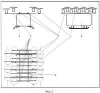 Патент 2577822 Мультикоптер с линейным расположением винтомоторных групп