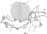 Патент 2385368 Способ разматывания рулона стеблей лубяных культур и устройство для его осуществления