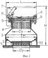 Патент 2495313 Взрывозащитный клапан для технологического оборудования