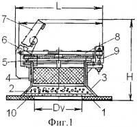 Патент 2378553 Предохранительный клапан с разрывным элементом