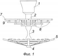 Литниковая система для заливки лопаток из жаропрочных сплавов для газотурбинного двигателя в формы, изготовленные автоматизированным способом