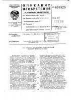 Патент 691325 Установка для испытания и окончательной обработки тормозных колодок