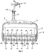 Патент 2505435 Кресло для кресельного подъемника