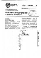 Патент 1101583 Скважинная штанговая насосная установка
