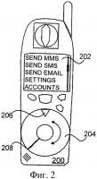 Патент 2408152 Устройство мобильной связи и способ ввода выбора объекта для представления на дисплее устройства мобильной связи