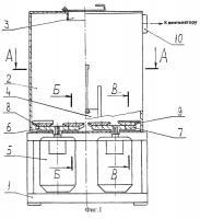 Патент 2254991 Агломератор для переработки отходов пластмасс