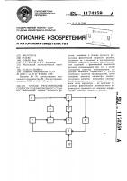 Патент 1174259 Способ регулирования скорости подачи пильного станка