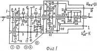 Патент 2406899 Четырнадцатиступенчатая соосная вальнопланетарная коробка передач