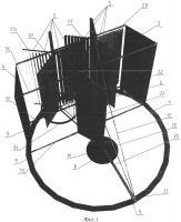 Патент 2664037 Ветроэнергетическая установка вертикального типа