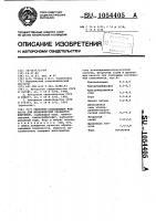 Патент 1054405 Смазочно-охлаждающая жидкость для механической обработки ферритов
