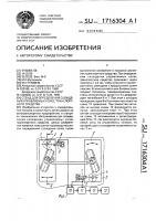 Патент 1716304 Стенд для определения схождения управляемых колес транспортного средства