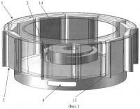 Патент 2462612 Ортогональный энергетический агрегат для преобразования энергии потоков воды или воздуха