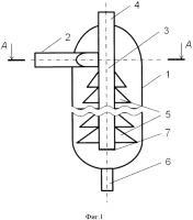 Патент 2571113 Центробежный сепараторный фильтр, дожимная насосная станция и способ ее эксплуатации