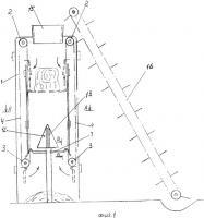 Патент 2367137 Установка для разрезания рулонов стебельчатого корма