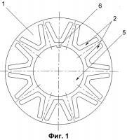 Патент 2316103 Магнитная система ротора
