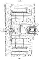 Патент 2617863 Атмосферный компрессорно-реактивный летательный аппарат