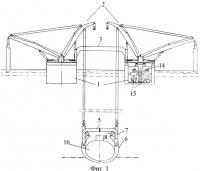 Патент 2390460 Комплекс для подъема и транспортирования затонувших подводных лодок и других судов
