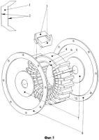 Патент 2327272 Модульная торцевая электрическая машина с поперечным магнитным потоком
