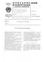 Патент 253918 Ротор электрической машины