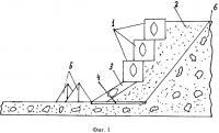 Патент 2533895 Способ защиты берегов рек на предгорных участках