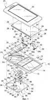 Патент 2389149 Комбинированный механизм для скользящих и вращательных движений и переносное электронное устройство, содержащее такой механизм