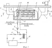 Патент 2285391 Холодильная установка с использованием холодного наружного воздуха для районов крайнего севера